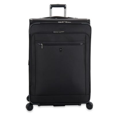 DELSEY Helium X'pert Lite 2.0 30-Inch Expandable Spinner Suiter Carry-On Trolley in Black