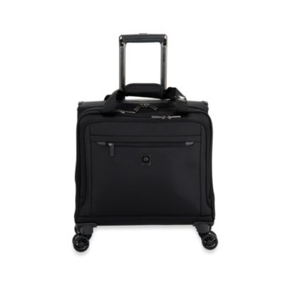 DELSEY Helium X'pert Lite 2.0 Spinner Trolley Tote in Black
