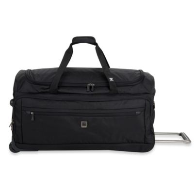 DELSEY Helium X'pert Lite 2.0 28-Inch Wheeled Trolley Duffel Bag in Black