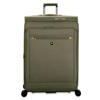 DELSEY Helium X'pert Lite 2.0 30-Inch Expandable Spinner Suiter Carry-On Trolley in Green