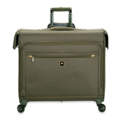 DELSEY Helium X'pert Lite 2.0 45-Inch Spinner Trolley Garment Bag in Green