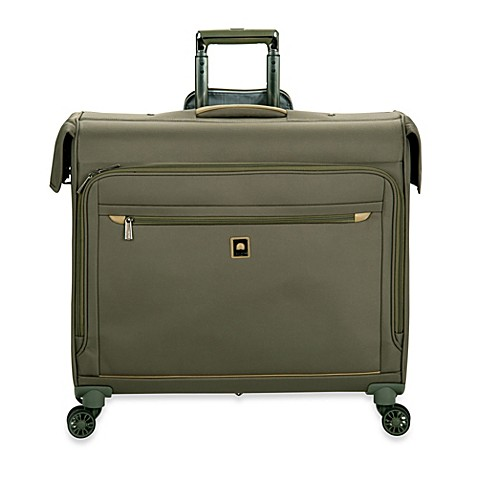 buy delsey helium x 39 pert lite 2 0 45 inch spinner trolley garment bag in green from bed bath. Black Bedroom Furniture Sets. Home Design Ideas