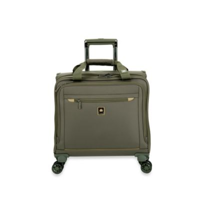 DELSEY Helium X'pert Lite 2.0 Spinner Trolley Tote in Green