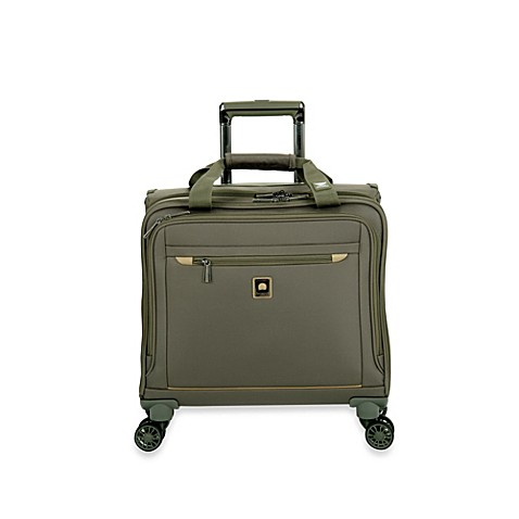buy delsey helium x 39 pert lite 2 0 spinner trolley tote in green from bed bath beyond. Black Bedroom Furniture Sets. Home Design Ideas