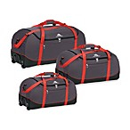 High Sierra Wheel-N-Go Duffel Bag in Red