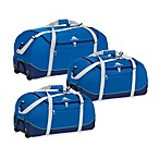 High Sierra Wheel-N-Go Duffel Bag in Blue