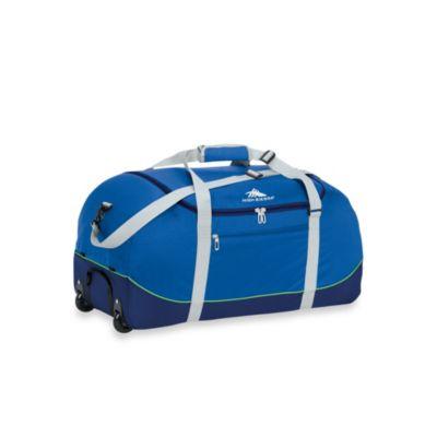 Blue Wheeled Duffle Bags