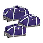 High Sierra Wheel-N-Go Duffel Bag in Purple