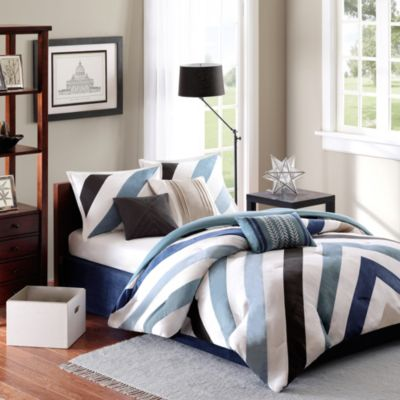 Madison Park Mercer Collection 7-Piece Comforter Set