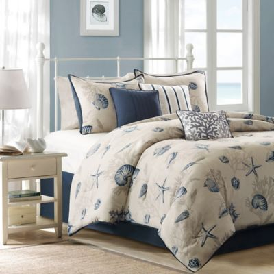Madison Park Bayside 7-Piece California King Comforter Set