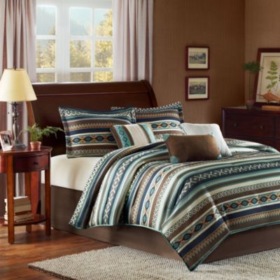Madison Park Malone 7-Piece California King Comforter Set