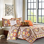 Madison Park Samara 7-Piece Comforter Set in Brown