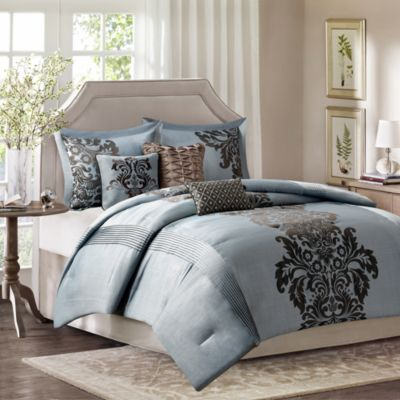 Madison Park Novak 7-Piece California King Comforter Set