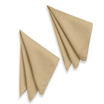 Basketweave Napkins in Birch (Set of 2)