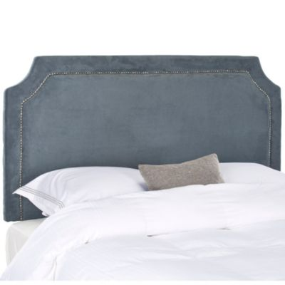 Safavieh Shayne Queen Headboard in Navy
