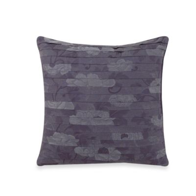 Charisma Amelia Blue Decorative 18-Inch Square Toss Pillow