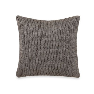Charisma Amelia Blue Decorative 16-Inch Square Toss Pillow