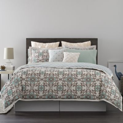 Real Simple® Camille Reversible Twin Duvet Cover