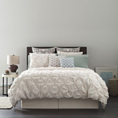 Real Simple® Jules Twin Duvet Cover