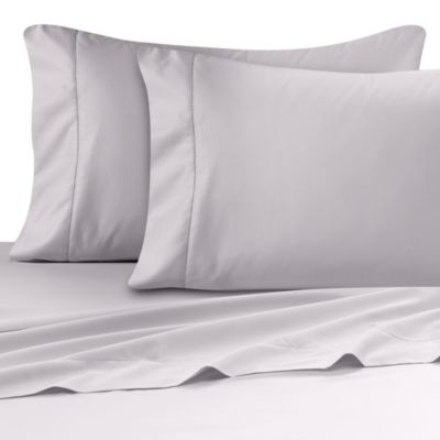 Wamsutta® Ultra Soft Sateen 525-Thread-Count Twin Flat Sheet in Silver