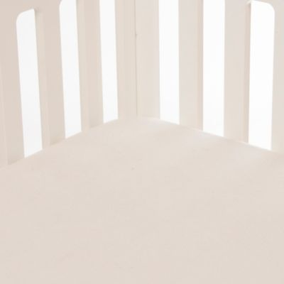 Glenna Jean Contessa Softee Fitted Crib Sheet in Cream