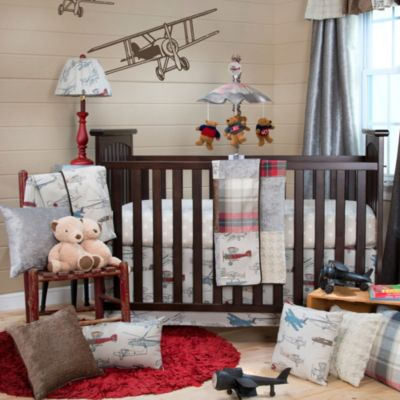 Glenna Jean Fly-By 3-Piece Crib Bedding Set