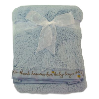 Nurture Imagination Elephant Jubilee Luxe Velour Blanket