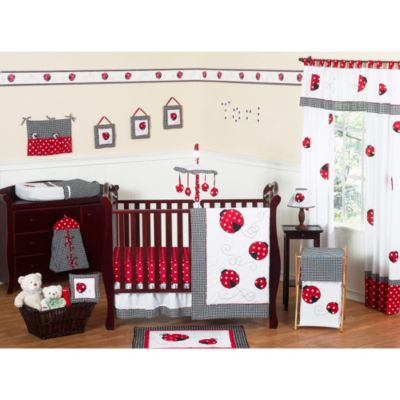 Red Polka Dot Bedding Sets