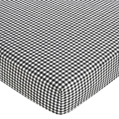 Black and White Gingham Sheets