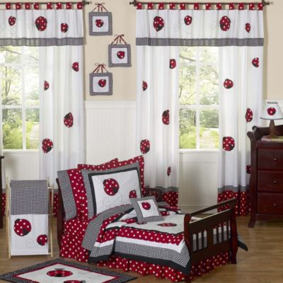 Sweet Jojo Designs Ladybug 5-Piece Toddler Bedding Set