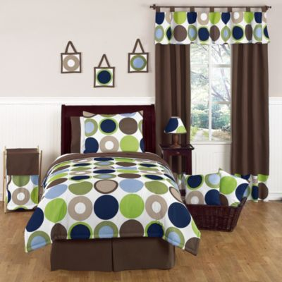 Sweet Jojo Designs Designer Dot 3-Piece Full/Queen Bedding Set
