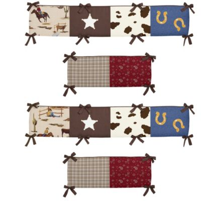 Sweet Jojo Designs Wild West Crib Bumper