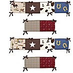 Sweet Jojo Designs Wild West Cowboy Collection Crib Bumper