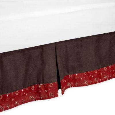 Sweet Jojo Designs Wild West Toddler Bed Skirt
