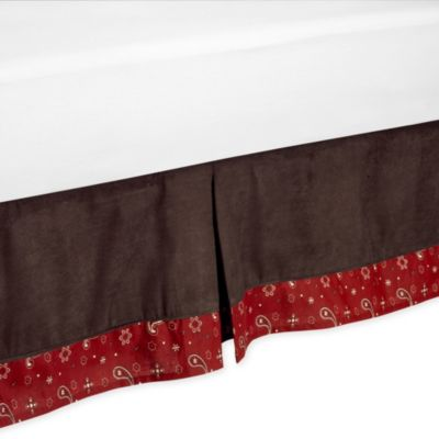 Sweet Jojo Designs Wild West Queen Size Bed Skirt