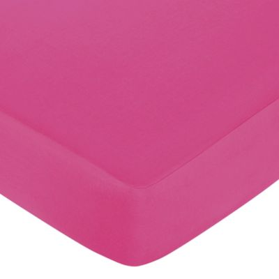 Isabella Crib Sheet in Pink