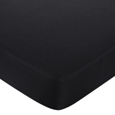 Isabella Crib Sheet in Black
