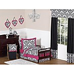 Sweet Jojo Designs Isabella 5-Piece Toddler Bedding Set in Pink/Black/White