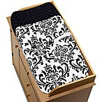 Sweet Jojo Designs Isabella Changing Pad Cover in Black/White