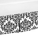 Sweet Jojo Designs Isabella Bed Skirt in Black/White