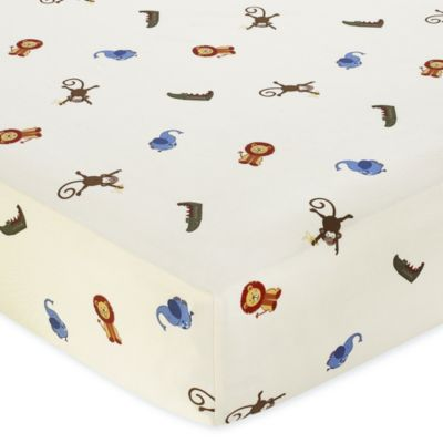 Animal Print Crib Sheets