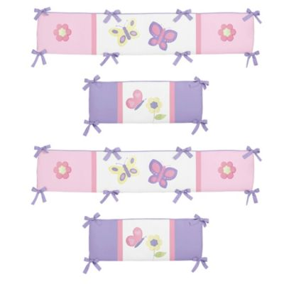 Crib Bumper in Pink