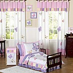 Sweet Jojo Designs Butterfly Collection Toddler Bedding in Pink/Purple