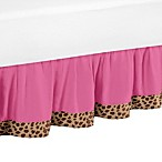 Sweet Jojo Designs Cheetah Girl Queen Bed Skirt