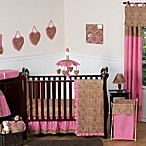 Sweet Jojo Designs Cheetah Girl 11-Piece Crib Bedding Set