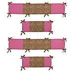 Sweet Jojo Designs Cheetah Girl Crib Bumper