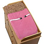 Sweet Jojo Designs Cheetah Girl Changing Pad Cover