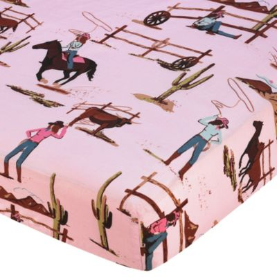 Cowgirl Print Baby Bedding