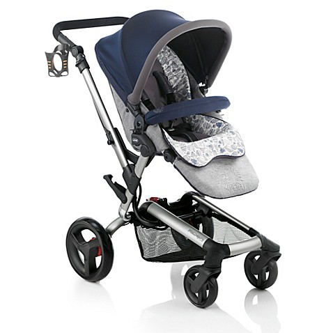 Jane Rider Anodized Aluminum Stroller in Blue Moon