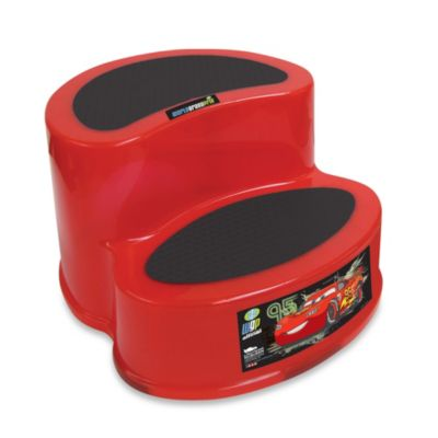 Ginsey Disney® Pixar Cars 2-Tier Step Stool
